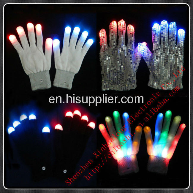 Magic LED Flashing Glove Shining Your Hands