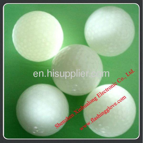 High Quality LED Flashing Golf Ball