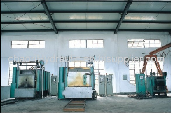 hydraulic jack for metallurgical equipment