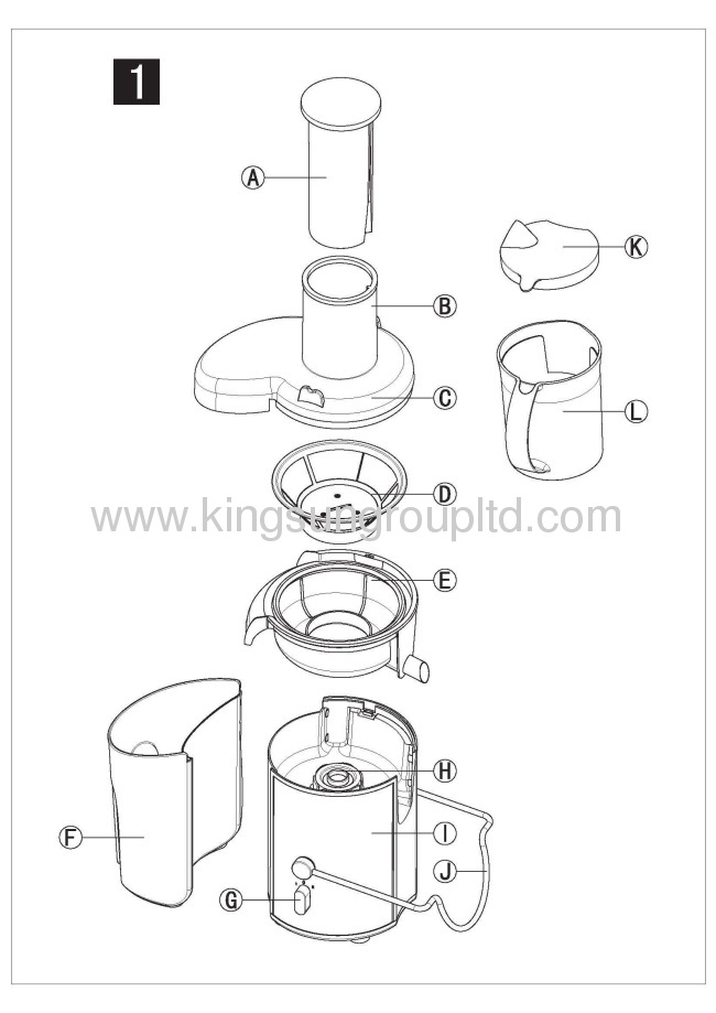 2012 new arrival 700W electric Juicer