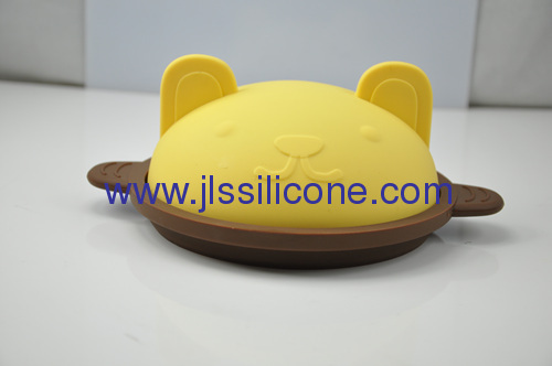 Lovely designed silicone bowl or pot