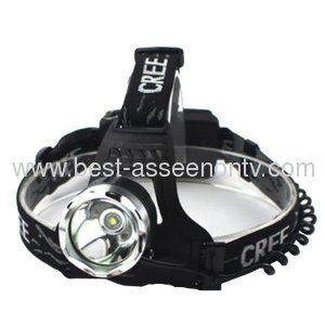 new outdoor camping headlights 3W strong baldheaded lights