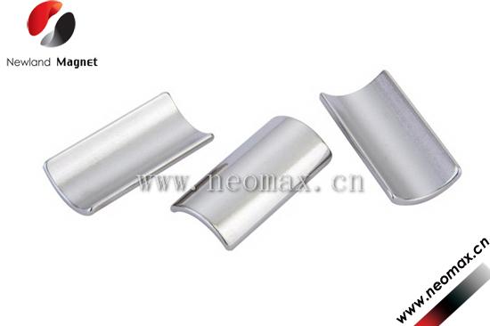 segment permanent neodymium magnets