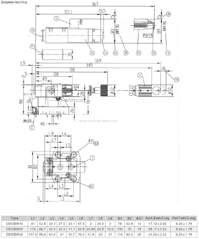 Pressure relief valve casting