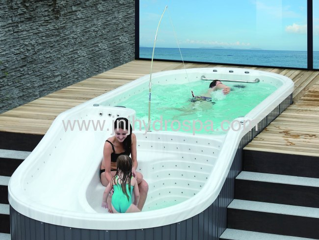 Outdoor Swimming Pool With Slide From China Manufacturer