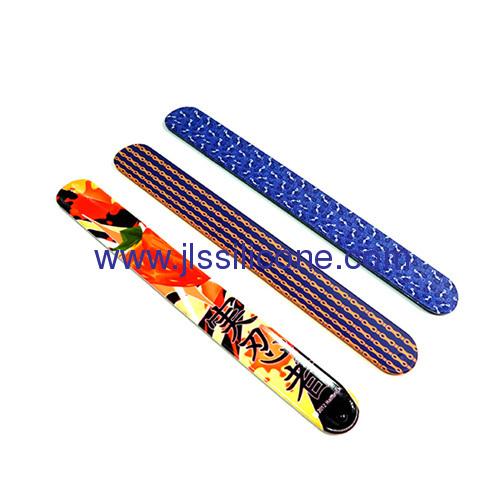 promotional gift silicone slap bracelet