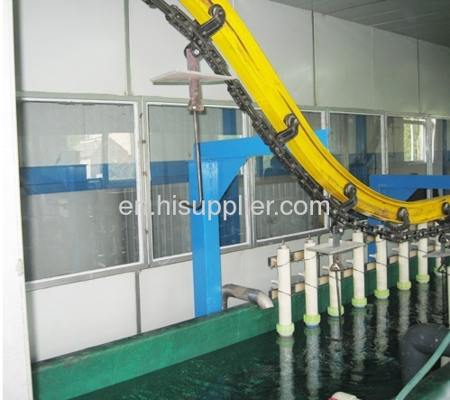 powder coating conveyor line