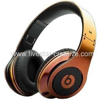 Monster Headphones Beats by Dr.Dre Studio Colorware Collection Orange