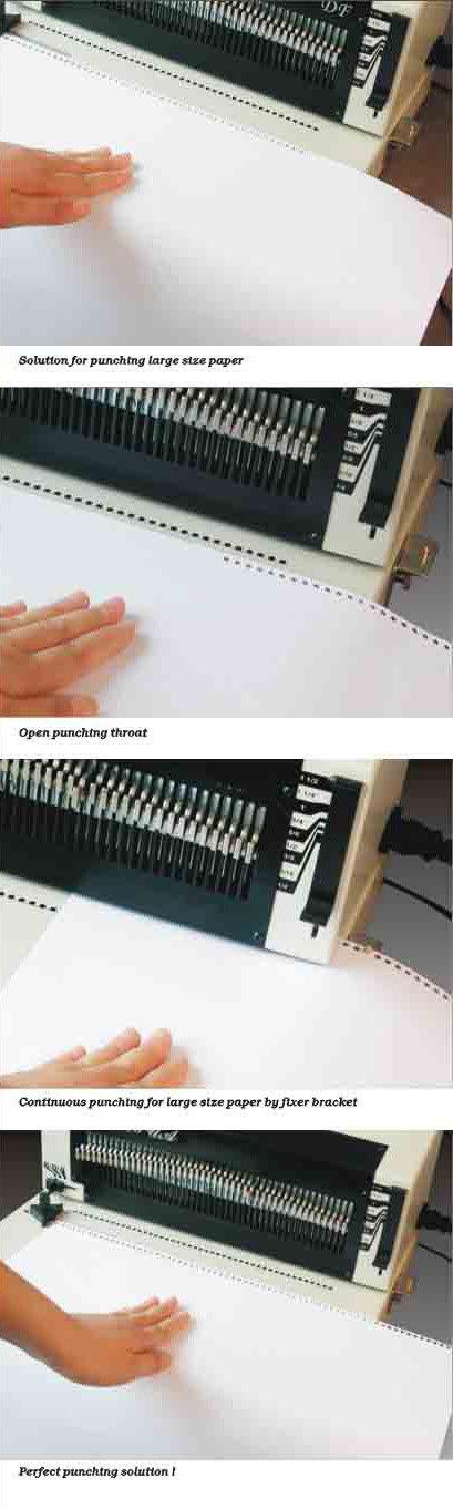 Electric Heavy Duty Spiral Binding Machine