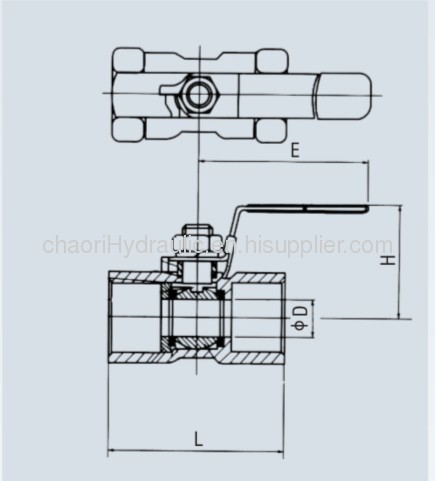 low medium pressure ball valve