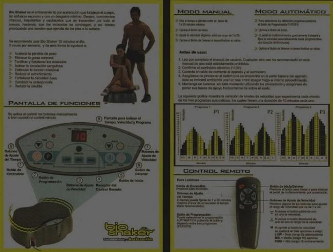 BIO SHAKER/Bio Shaker El Original Usado Excelente Estado En Caja