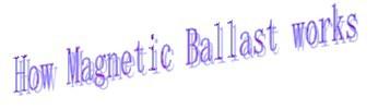 Ningbo 58W FCL FL Magnetic ballast(B2 Degree)
