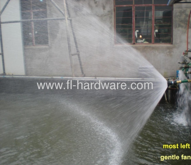 Aluminium powerful jet stream water sprayer