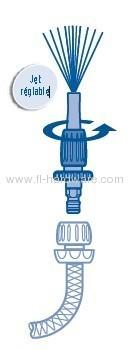 1/2brass watering hose fitting set fit wtih 13mm garden hose