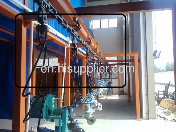 Die-forging overhead conveyor system supplier in China