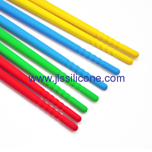 Soft and food contact silicone chopsticks in short size