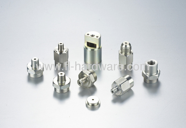 Steel forging and machining parts