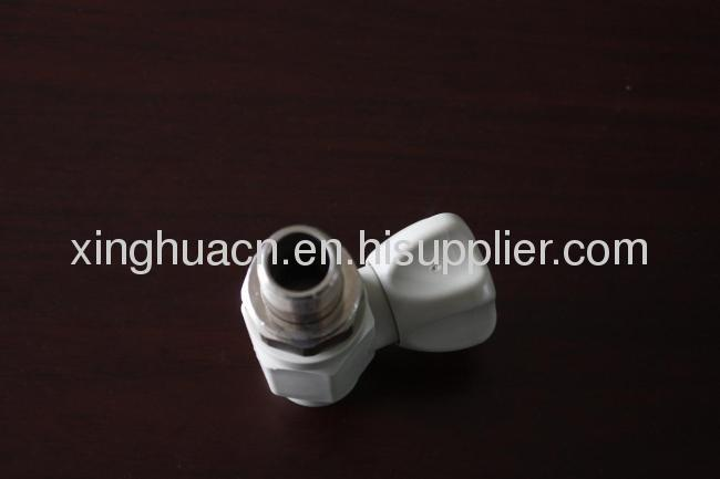 2013 hot sale grey male Straight radiator Valves 20*1/2