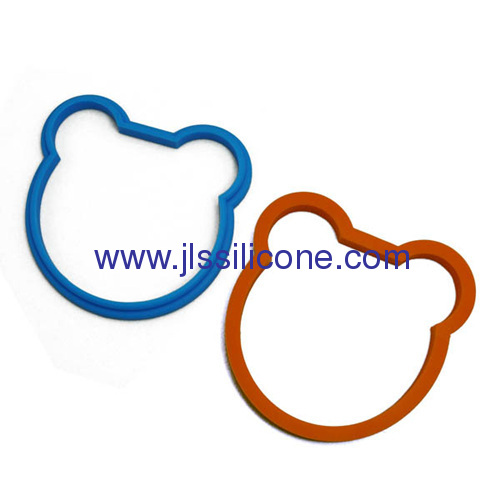 Bear style omelette mould silicone egg ring