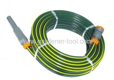 15M water hose pipe set with spray nozzle&connector