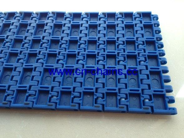 Friction top modular conveyor belt (QNB rubber top)