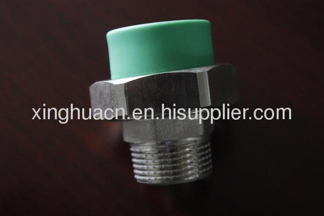 Popular green Male Adaptor Union 20*1/2