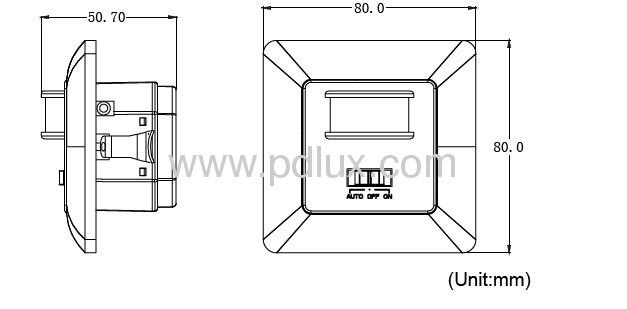 Infrared motion sensor PD-PIR221-V2