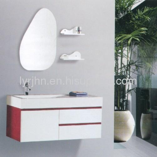 The PVC bathroom cabinet