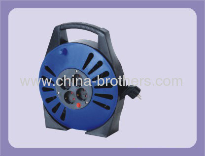 10M Germany Extension Cable Reel With 4 Outlet Sockets