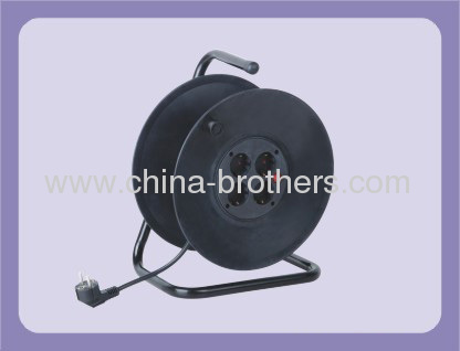 40m 50m Germany Extension Cable Reel with 4 Outlet Sockets