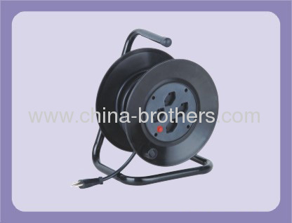 25m 30m Switzerland Extension Cable Reel with 4 Outlet Sockets