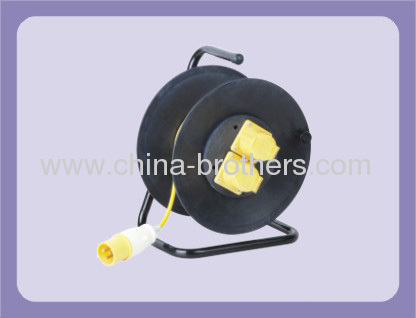 INDUSTRIAL 3-WIRE CABLE REEL WITH 2 OUTLET FOR 40-50 METER