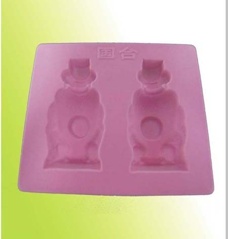 Blister Flocking PVC Plastic Tray for Cosmetic