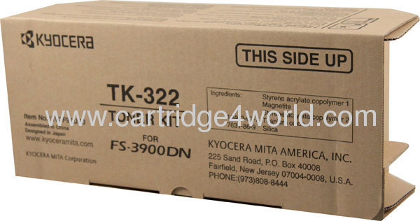 A great variety of goods Durable modeling Durable Cheap Recycling Kyocera TK-322 toner kit toner cartridges