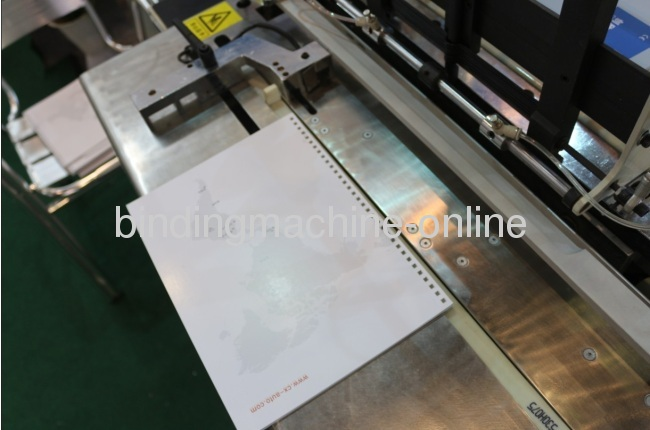 Automatic Double Wire Binding Machine