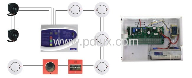 A fire alarm system
