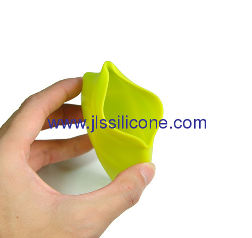 100ML silicone leaf toothbrush holder