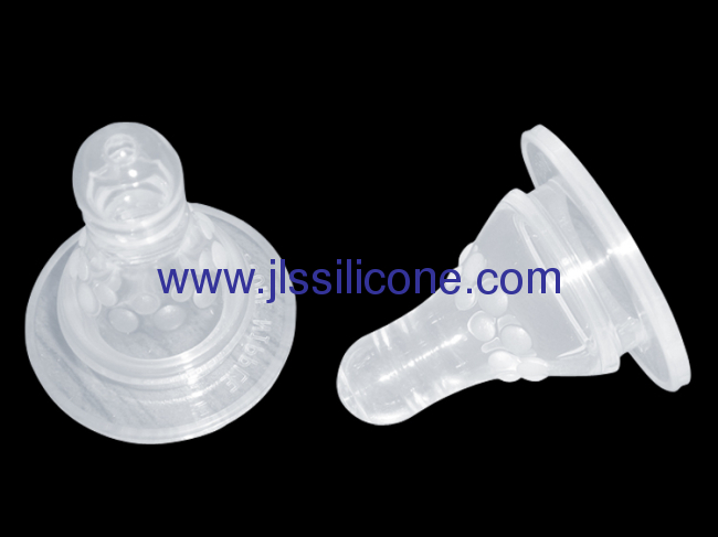 0-6 month silicone infant nipple
