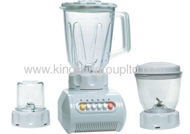 Large Plastic Jar food blender 2 in 1 KS-999