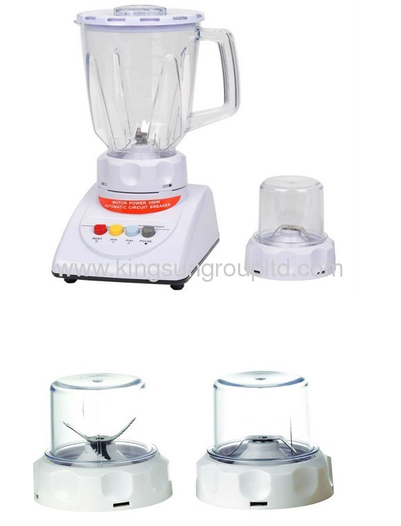 Glass Jar Blender with grinder KS-718