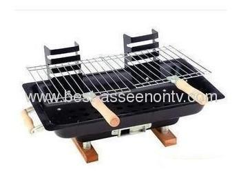 Outdoor Stainless steel Hiking camping Charcoal Grill Picnic BBQ Grill for Barbecue