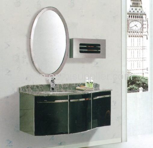 Stainless steel bathroom cabinet model 6097