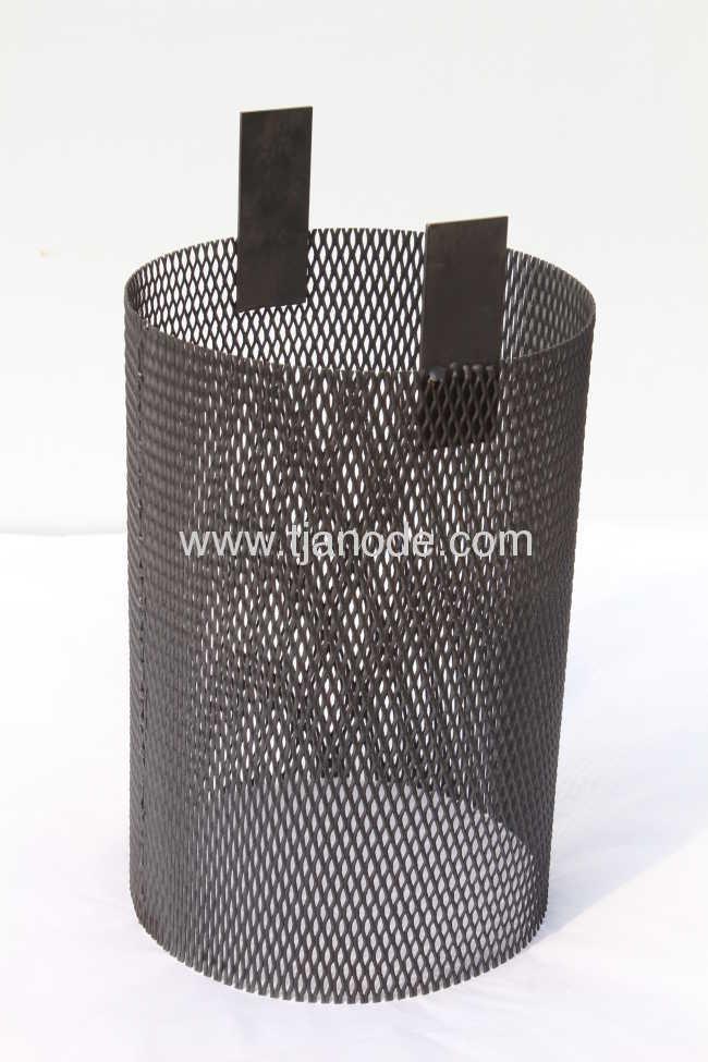 Mixed Metal Oxide Coated Titanium Basket
