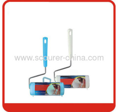 Blue or white Roller sticker with PP material