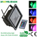 50w RGB Color changing led flood lights with remote control