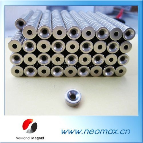 Thread Hole NdFeB Magnet