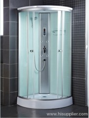 Computerized simple shower cabins