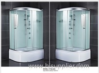 One touch screen control panel shower cabins