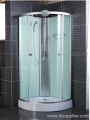 Aluminum panel shower cabin