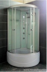 One touch screen control panel shower room